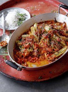 Celery alla parmigiana