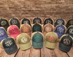 monogram hat, distressed monogrammed hat, adams monogram hat, women hat,adams distressed hat, ladies cap,trucker hat, monogram cap