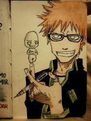 Ichigo and Me by naldojunio