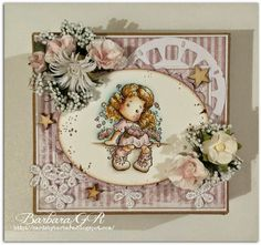 Cards by Barbara: Pretty in Pink