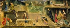 The House Opposite, 1945 by Leonora Carrington