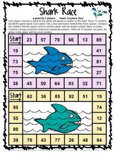 End of the Year Math Games for First Grade: Summer Packet Activities Math Board Games, Math Boards, Math Games, Math Activities, Math Work, Fun Math, Maths, Fun Games For Kids, Games For Toddlers