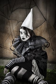 "500px / Photo ""Pierrot"" by Rebeca Saray Gude"