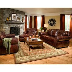 Gorgeous Brown Leather Sofa Living Room Best 25 Leather Living intended for Living Room Leather Furniture Ideas 34516 Brown Leather Furniture, Leather Living Room Furniture, Room Furniture Design, Furniture Ideas, Leather Sofas, Dark Furniture, Rustic Furniture, Thomasville Furniture, Mexican Furniture