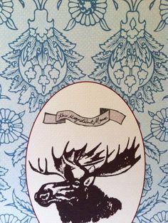 moose tattoo design