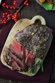 Sunday Dinner: Rosemary-and-Sage-Crusted Roast Beef