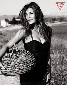 "catisfashion: ""Grace Elizabeth for GUESS by Marciano campaign by Kayt Jones "" Guess Jeans, Grace Elizabeth, Guess Girl, Summer Campaign, Guess By Marciano, Black And White Pictures, Sensual, Pretty Woman, Black White"