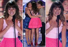 Lea Michele in Tears for Cory Monteith Tribute — 2013 Teen Choice Awards Photos