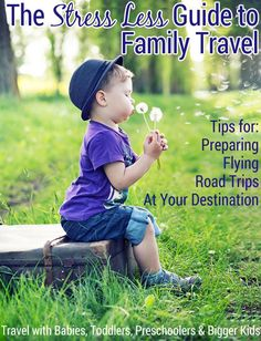 The Ultimate Guide to Travel for Young Families! Fantastic list of posts covering just about everything you need to know. ~~  Packing tips, vacation countdowns, traveling and flying with a baby, keeping toddlers busy, travel activity suggestions, snack ideas, and so much more - with printables!
