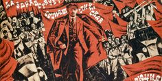 "35 Communist Propaganda Posters Illustrate The Art And Ideology Of Another Time -- ""Long live the socialist revolution! Communist Propaganda, Russian Avant Garde, Modern Art Movements, Political Posters, Socialist Realism, Russian Revolution, Examples Of Art, Constructivism, Red Army"