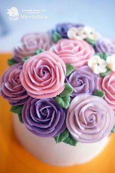 ::플라워케이크:: 아버지 생신선물로 예쁜케이크를 준비한 감동선물 by.나나 아버지생신날 특별히 준비한 ...