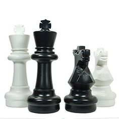 Uber Games Giant Chess Game Pieces Set  Plastic  24 inch -- Read more reviews of the product by visiting the link on the image.