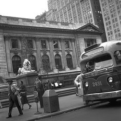 New York Public Library, 1957