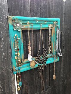 Hawaiian Inspired Teal and & Gold Jewelry by EmilysPrettyThings, $29.95