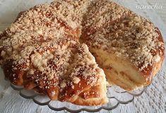 "Kysnutý koláč ""Jablkové kornútiky"" (fotorecept) - recept | Varecha.sk Apple Pie, Camembert Cheese, Treats, Sweet, Food, Recipes, Basket, Sweet Like Candy, Candy"