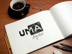 Uma Digital - Identidade Visual on Behance