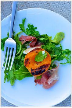 Tuesday Tastings, apricots, mozzarella, salad, recipe #camillestyles