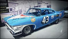 1960 Plymouth Fury Richard Petty's Stock Car.  #OLDSCHOOLNASCAR