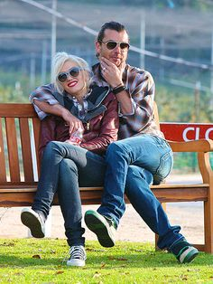 Gavin Rossdale & Gwen Stefani - THE best dressed/cutest couple ever.