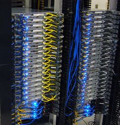 Clean network server room