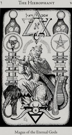 The Hierophant - Hermetic Tarot