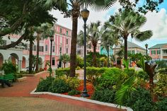 The Rawson Square, Directory located at the harbour of Nassau!