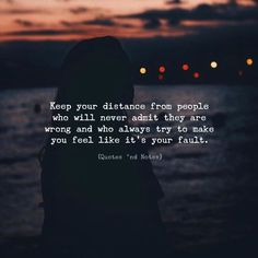 Quotes 'nd Notes - Keep your distance from people who will never...
