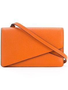 VALEXTRA 'Twist2' shoulder bag. #valextra #bags #shoulder bags #leather #