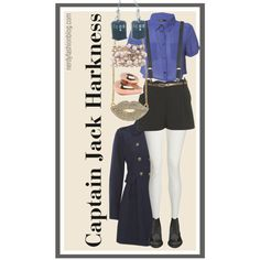 """If I can't have Captain Jack Harkness, at least I can wear an outfit inspired by him - """"Captain Jack Harkness 