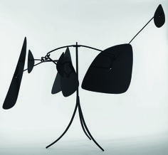 Alexander Calder, Shields, 1944. Steel, Wire and metal, National Museum of Modern Art - Georges Pompidou Center, Paris.
