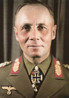 Erwin Rommel (The Desert Fox), one of the conspirators in the attempt to assassinate Hitler, as well as the greatest tactical genius in WWII. World History, World War Ii, Afrika Corps, Erwin Rommel, German Uniforms, Luftwaffe, German Army, Panzer, North Africa