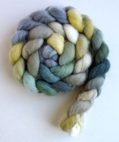 Falkland Wool Roving  Hand Dyed Spinning or by threewatersfarm, $18.95, Diaphanous Drapes