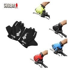 4 Colors Dragon Pattern Kingsir Bike Gloves Motocross MTB Bicycle Padded Sports Cycling Gloves Half Finger Guantes De Ciclismo #CLICK! #clothing, #shoes, #jewelry, #women, #men, #hats, #watches