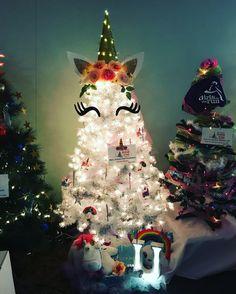 9 Awesome Unicorn Christmas Tree Images Christmas Trees Xmas Tree