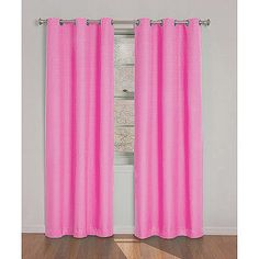 Eclipse Kids Dayton Energy-Efficient Curtain  pink blackout curtains!