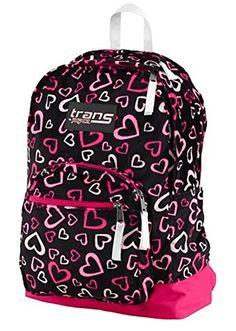 JanSport Backpack Trans by Jansport 15 Laptop Sleeve Heart Print * For more information, visit image link.