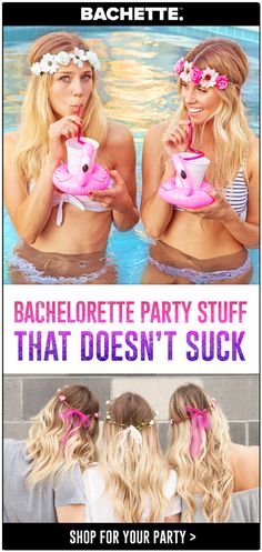 Yas! Pin this for the bach! Everything you need for an unforgettable palm springs bachelorette party! Bride squad shirts and bride tribe shirts bachelorette party decorations and many more bachelorette party ideas and poolside bachelorette party ideas Bachelorette Outfits, Bachelorette Party Planning, Bachelorette Party Decorations, Party Favors, Bachelorette Weekend, Thalia, Bridal Showers, Palm Springs, Party Ideas