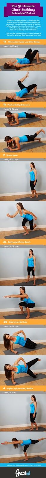 30 minute booty workout
