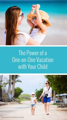 The Power of a One-on-One Vacation with Your Child *Would you try this with your family?