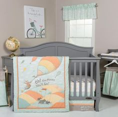 Dr. Seuss Oh, The Places You'll Go! 5 Piece Crib Bedding Set