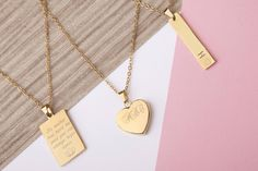 gold gift for mothers day gold necklace gold pendant Necklace gold disc Necklace Gold Engraved Necklace bridesmaid gift by StatementMadeUK Gold Engraved Necklace, Gold Disc Necklace, Engraved Jewelry, Short Necklace, Sister Gifts, Mother Day Gifts, Mum Gifts, Auntie Gifts, Bond