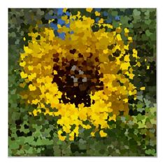 Sunflower Hearts Print