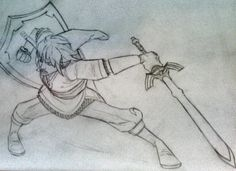 Link into a sketch by BluBoiArt.deviantart.com on @deviantART  Literally did this today I'm AMPED on it because I think I reminded myself of my drawing style while I was doing it...though I think I may still explore :D, you gotta love the inspiration art gives you its a lovely feeling. Oh yea This is the iconic character Link from the legend of zelda games I KNOW you all know him cuz he's awesome. #nintendofanart #nintendo #thelegendofzeldaskywardsword #link #lineart #sketch