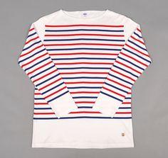 Beams Tri Color Long Sleeve Shirt