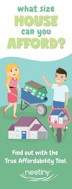 Thinking of buying a home? Not sure what you should spend? Not sure what home size is right for you? No worries! We've got you covered. Get started here with our free Homebuying tips, tools and games at Nestiny! Visit www.Nestiny.com and get your journey started!