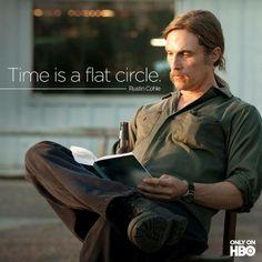 True Detective (2014)   ไม่ค่อยเกทหนังเท่าไร แต่ชอบ โดยเฉพาะตัวละครรัส โคล ทั้งที่ก็ไม่เข้าใจที่เฮียแกพูดเท่าไร แต่ชอบสีหน้า สายตา มาก เหมือนมีอะไรในหัวที่ตัวเองค้นพบและเข้าใจอยู่คนเดียว  เป็นตัวละครที่อยากรู้จักต่อ   มันไม่ใช่หนังผี มีดนตรีให้ตกใจ แต่ความเงียบ นิ่งของหนังเนี่ยแหละดูแล้วหลอน น่ากลัว (กลัวอะไรก็ไม่รู้)  ปล. อยากเข้าใจแบบที่คนอื่นเค้าตีความจากหนังกันได้บ้าง บางอันก็จับสิ่งที่รัสพูดได้ แต่หลายอัน งง!!