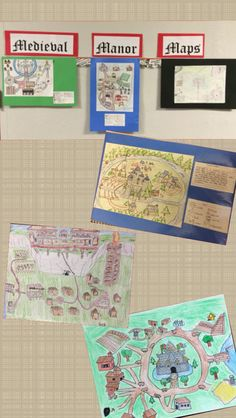 6th Grade Social Studies Create Medieval Manor Maps