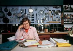 How much do we love Julia Child? Today would have been her Birthday and still she is more alive than ever. Much inspiration has been passed down from this powerhouse lady. Great article by Laura Jacobs on Julia Child Julia Childs, Cooking Photos, Cooking Tips, Cooking Classes, Meryl Streep, Julie E Julia, Happy Birthday Julia, Chefs, Kitchen Organization