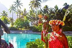 Tahitian locals at the intercontinental thalasso spa bora bora tahiti polynesia - (#164043) - High Quality and Resolution Wallpapers on hqWallbase.com