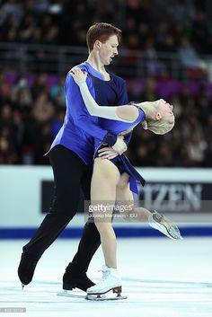 News Photo : Evgenia Tarasova and Vladimir Morozov of Russia...